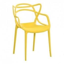 Пластиковое кресло Мастерс желтый ГСДМ