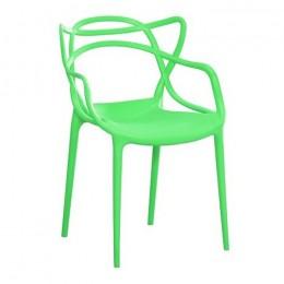 Пластиковое кресло Мастерс зеленый ГСДМ