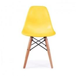 Детский стул Тауэр Вaby бук желтый ГСДМ