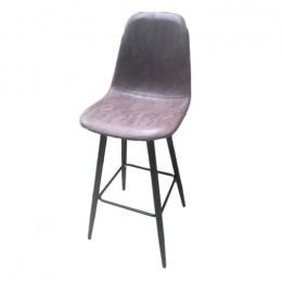 Барный стул хокер Нубук Н черный ГСДМ