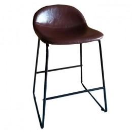 Полубарный стул Бостон М темно-коричневый