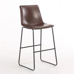 Полубарный стул Техас М темно-коричневый