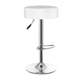 Высокий барный стул Пина хокер белый