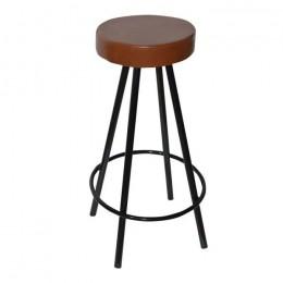 Барный стул хокер Диана коричневый