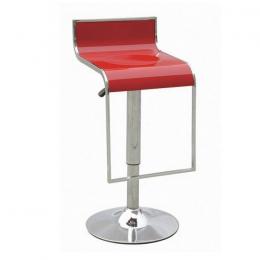 Барный стул хокер Огус красный