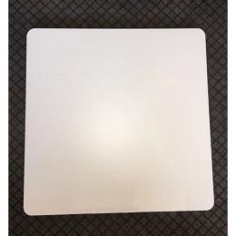 Квадратная столешница Алор 25 мм 60*60см белый