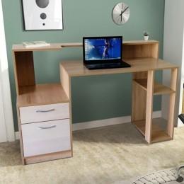 Компьютерный стол СК-11 Сонома+Атланта МиксМебель