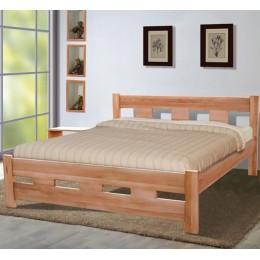 Двуспальная кровать SPACE (спейс) 1600*2000, масло натур МиксМебель
