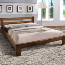 Двуспальная кровать STAR (стар) 1600*2000, беленый дуб МиксМебель