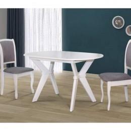 Стол кухонный Брайтон 1290 (+340)*810, белый МиксМебель