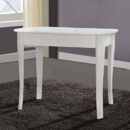 Стол кухонный Даллас 930(+300)*670 белый МиксМебель