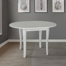 Стол кухонный Дукат 930 (+250)*930  белый МиксМебель