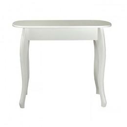 Стол кухонный Кантри 930(+300)*670 белый МиксМебель