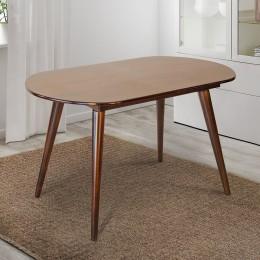 Стол кухонный Патрик 1290 (+340)*810, орех темн МиксМебель