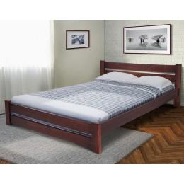 Двуспальная кровать Глория 1600*2000, орех темный МиксМебель