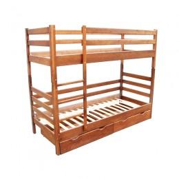 Двухъярусная кровать Засоня 800*1900, ольха МиксМебель