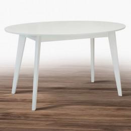 Стол кухонный Космо 1375*900, белый МиксМебель