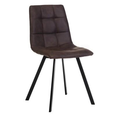 Кухонный стул модерн N-47 (маррони/черный) Vetro