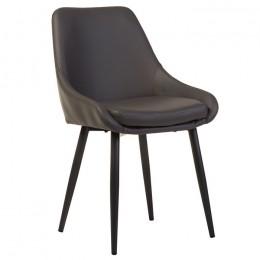 Обеденный стул модерн N-49 (серый) Vetro