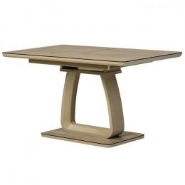 Раскладной кухонный стол TML-522 (макиато) Vetro