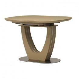 Раздвижной кухонный стол TML-765-1 (матовый капучино) Vetro