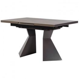 Керамический кухонный стол TML-845 (гриджио латте) Vetro