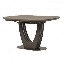 Керамический раскладной обеденный стол TML-865 (серый топаз) Vetro