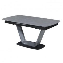 Керамический раскладной кухонный стол TML-870 (айс грей) Vetro