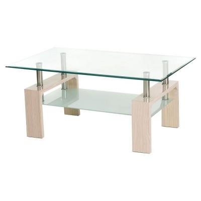 Журнальный столик C-107-2 белый дуб 110*60*45(H) Vetro