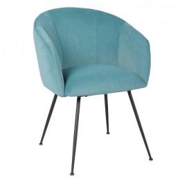 Кресло для гостиной модерн М-60 голубой топаз 81*65*60,5*51,5 Vetro