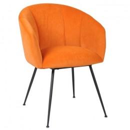 Кресло для гостиной модерн М-60 медный 81*65*60,5*51,5 Vetro