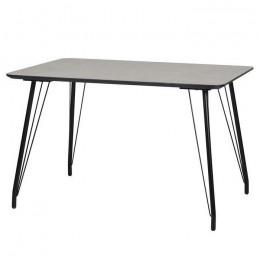 Кухонный стол ТM-47 бетон 120*80*76(H) Vetro