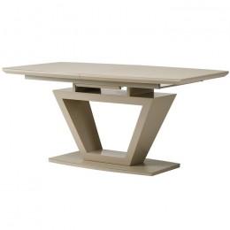 Раздвижной обеденный стол TMМ-53-2 матовый капучино (160-200)*90*76(Н) Vetro