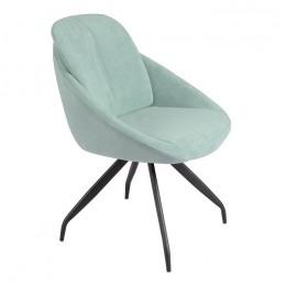 Кресло поворотное модерн R-65 мятный 86*70*59*49 Vetro