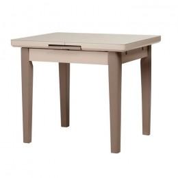 Раскладной кухонный стол TM-79 матовый капучино-латте (90-115)*70*75(Н) Vetro