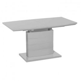 Раздвижной обеденный стол TMM-50-1 матовый серый (120-160)*80*76(Н) Vetro