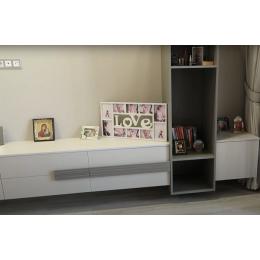Девичья детская комната из ДСП в цвете кашемир/кубанит