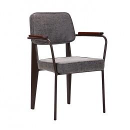 Кресло Lennon кофе / бетон AMF