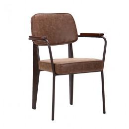 Кресло Lennon кофе / лунго AMF
