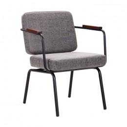 Кресло Oasis черный / бетон AMF