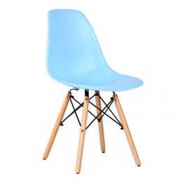 Стул Aster PL Wood Пластик Голубой AMF