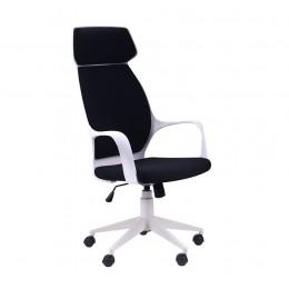 Кресло Concept белый, тк.черный AMF