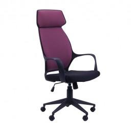 Кресло Concept черный, тк.пурпурный AMF