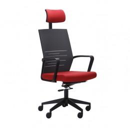 Кресло Nitrogen HB графит/бургунди AMF