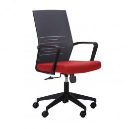 Кресло Nitrogen LB графит/бургунди AMF