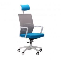 Кресло Oxygen HB циркон/лазурь AMF