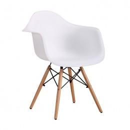 Кресло Salex PL Wood Белый AMF