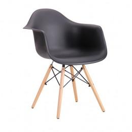 Кресло Salex PL Wood Черный AMF