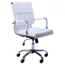 Кресло Slim FX LB (XH-630B) белый AMF