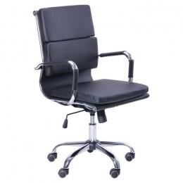 Кресло Slim FX LB (XH-630B) черный AMF
